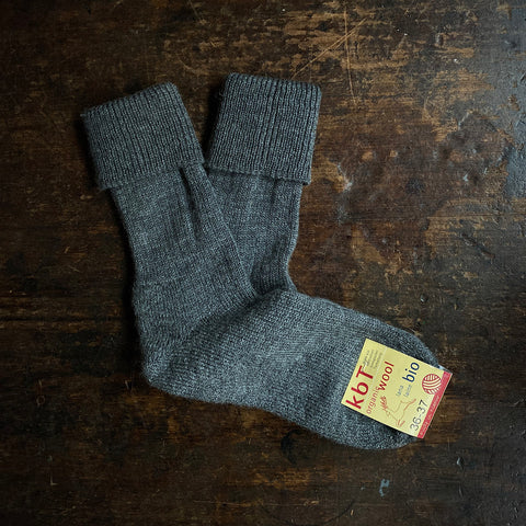 Adult Wool Boot Socks - Anthracite