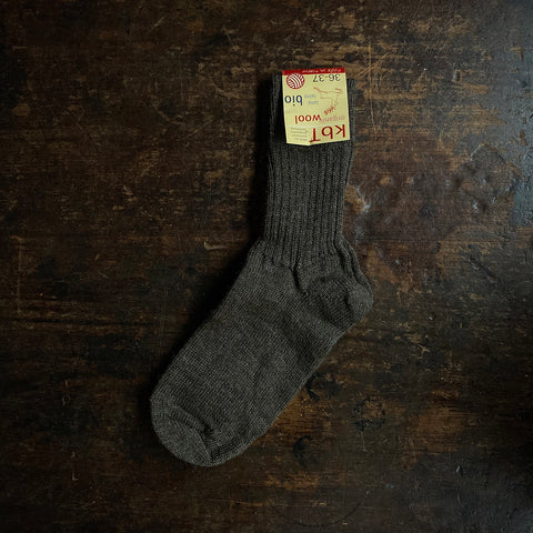 Adult Wool Socks - Cocoa
