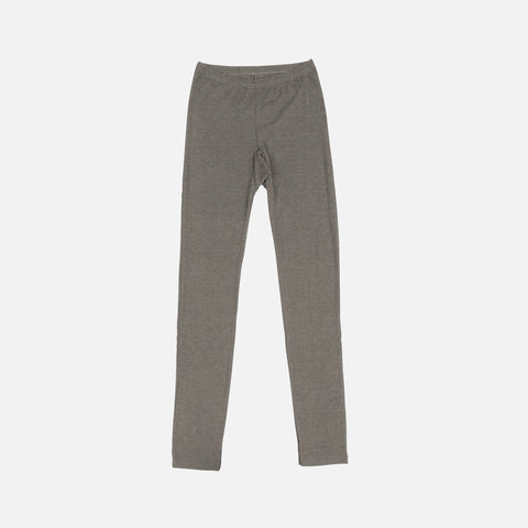 Women's Wool/Silk Leggings - Sesame