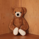 Very Large Organic Cotton & Wool Bear - Caramel