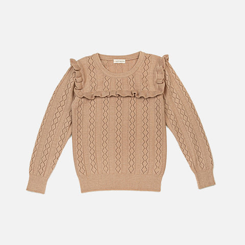 Wool Eloïse Sweater - Dusty Rose