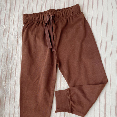 Cotton Ebi Pants - Mocca