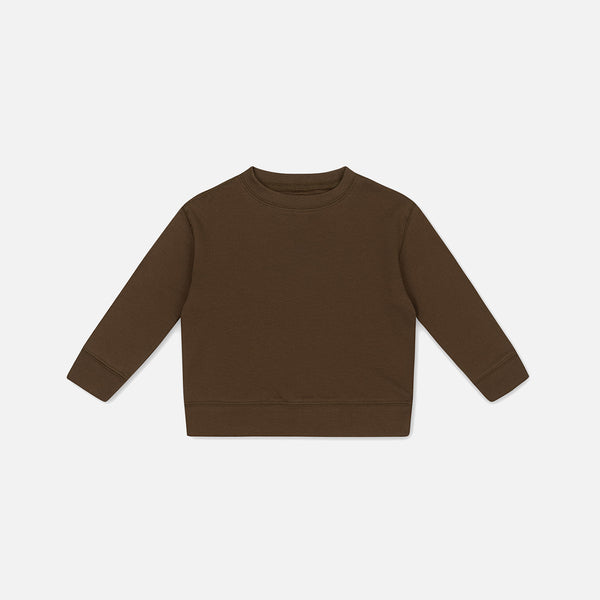 Cotton Ebi LS Top - Walnut