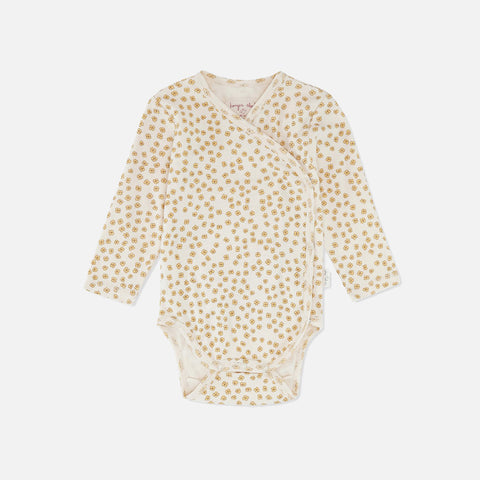 Organic Cotton Newborn LS Body - Buttercup Yellow