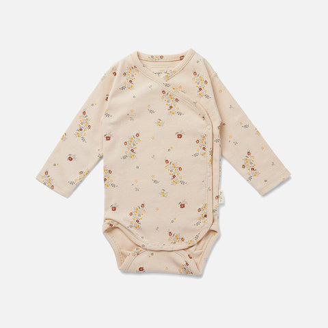 Organic Cotton Wrap Body - Nostalgie Blush