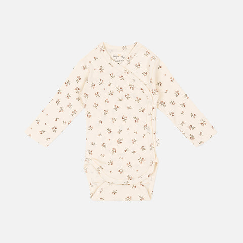 Organic Cotton Wrap Body - Petit Amour Rose