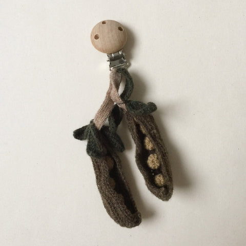 Wool Mini Mobile - Pea Pods