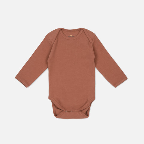 Organic Cotton Siff Body - Choco Bean