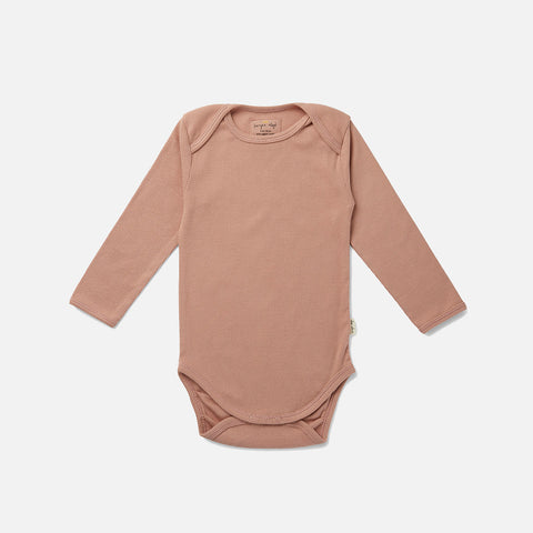 Organic Cotton Siff Body - Rose Blush