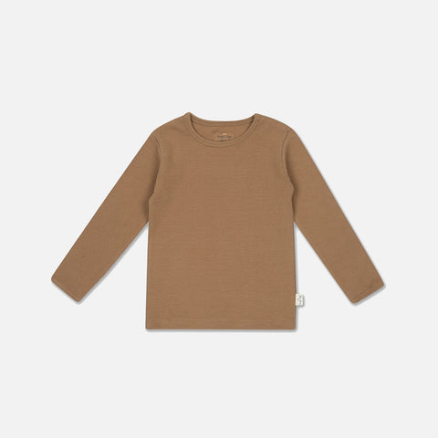 Organic Cotton Siff LS Top - Almond