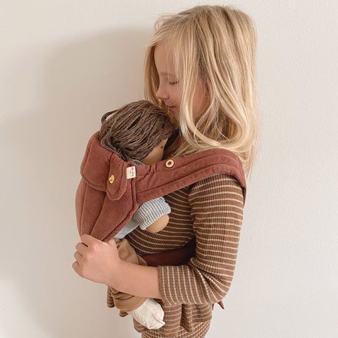 Organic Cotton Doll Baby Carrier