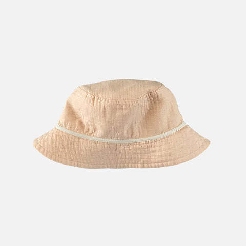 Organic Cotton Bucket Hat - Nude