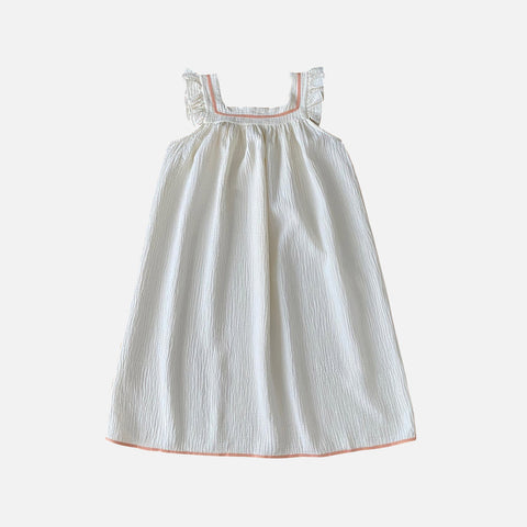 Organic Cotton Liilu Nightdress - Milk