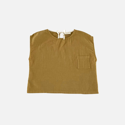 Organic Cotton Pocket Shirt - Pistachio