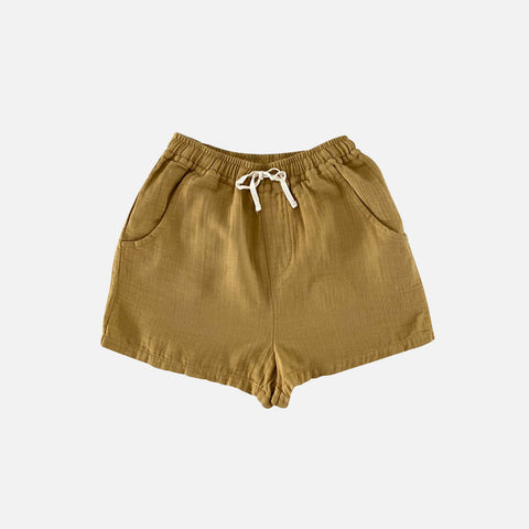 Organic Cotton Tudor Shorts - Pistachio