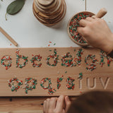 Wooden Alphabet Board - Natural