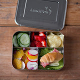 Stainless Steel Large Cinco Bento Lunch Box