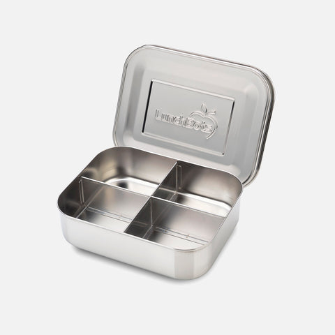 Stainless Steel Medium Quad Bento Lunch Box