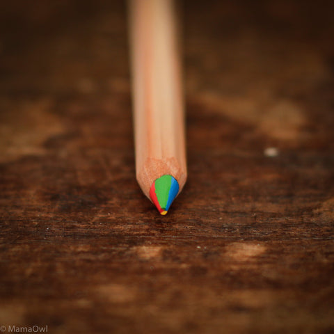 Colour Giants Nature Rainbow Pencil