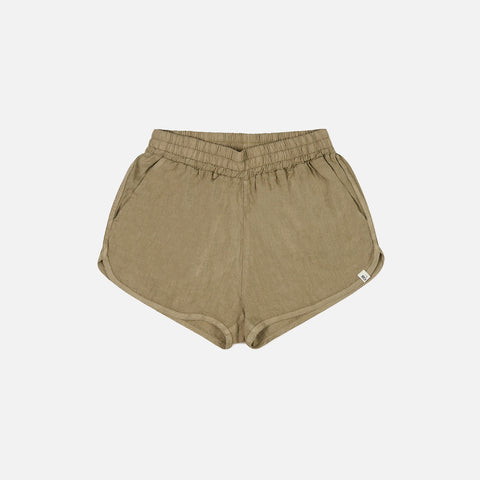 Women's Linen Bloem Shorts - Clay