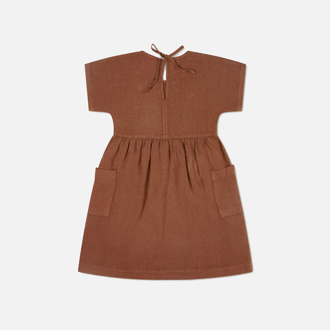 Linen Eden Dress - Sienna