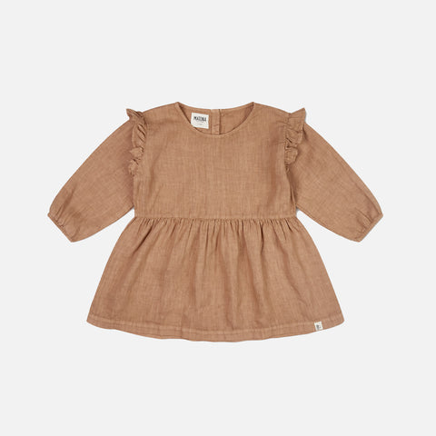 Linen Luzia Blouse - Tan