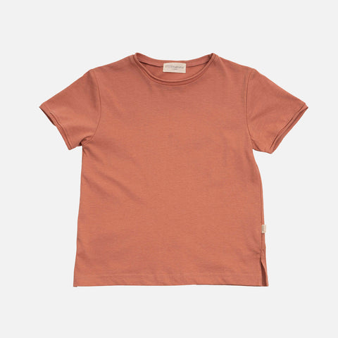 Organic Cotton SS Lyn Tee - Tan