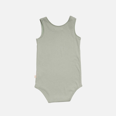 Organic Cotton Sleeveless Napoli Body - Foam