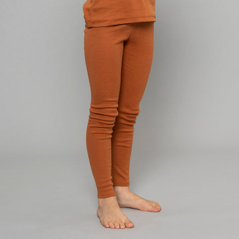Organic Cotton Nice Leggings - Clay