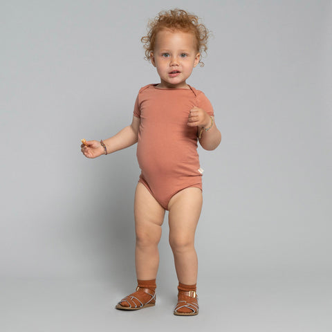 Organic Cotton SS Noma Body - Tan