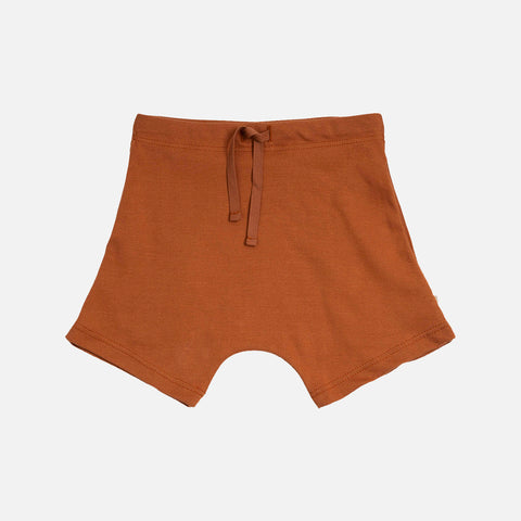Organic Cotton Seamless Norse Shorts - Clay
