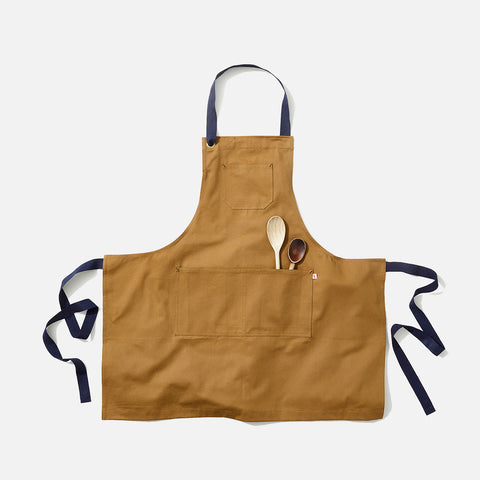 Adult's Cotton Maker Apron - Tan
