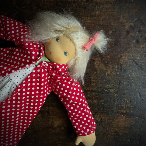 Organic Cotton/Wool Luisa Doll