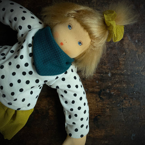 Organic Cotton/Wool Mascha Doll