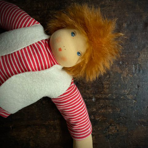 Organic Cotton/Wool Simon Doll