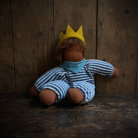 Organic Cotton/Wool Little King Oskar