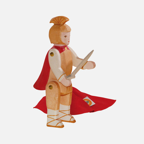 Handcrafted St Martin's Knight with Cape & Sword