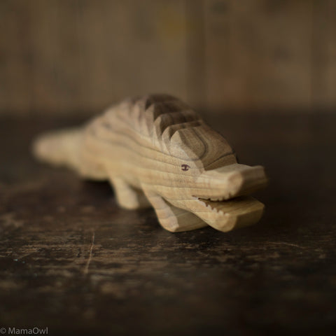 Hand Crafted Wooden Dragon