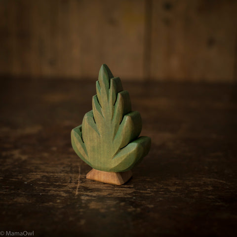 Hand Crafted Wooden Small Bush