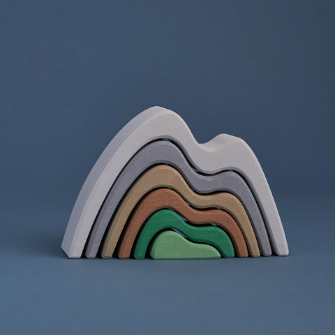 Wooden Mountains Arch Stacker