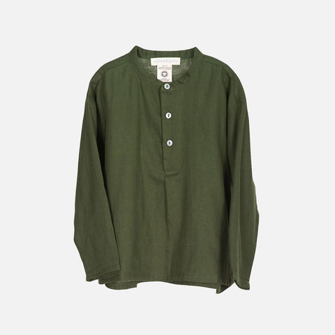 Organic Cotton LS Shirt - Cedar