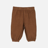 Organic Cotton Baby Corduroy Trousers - Walnut