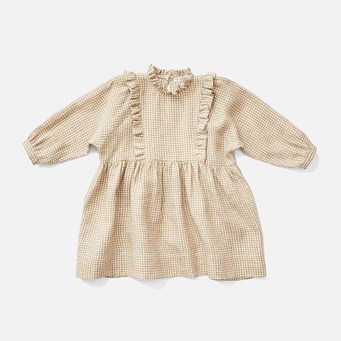 Linen Percy Dress - Gingham