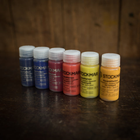 Watercolour Liquid Paint - Basic 6 Colours