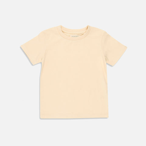 Organic Cotton SS Tee - Almond Milk