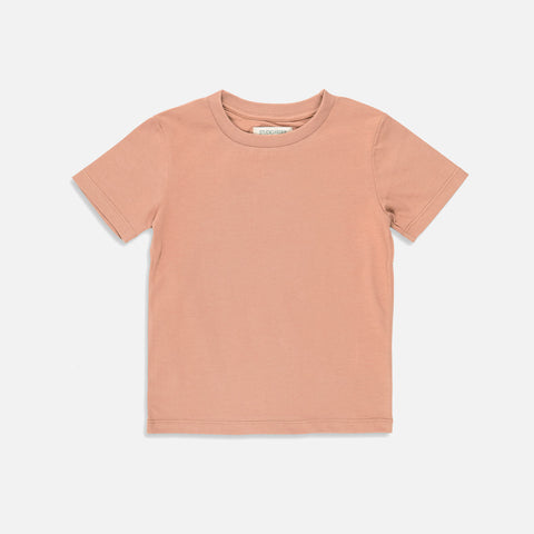 Organic Cotton SS Tee - Clay