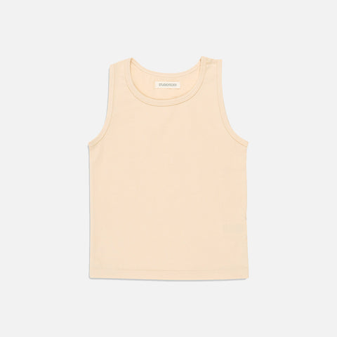 Organic Cotton Tank Top - Almond Milk