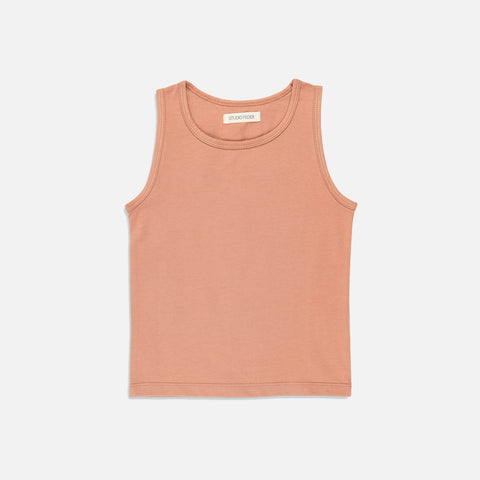 Organic Cotton Tank Top - Clay
