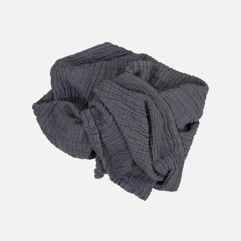 Children's Muslin Cotton Scarves - Pebble Grey - 2-12y