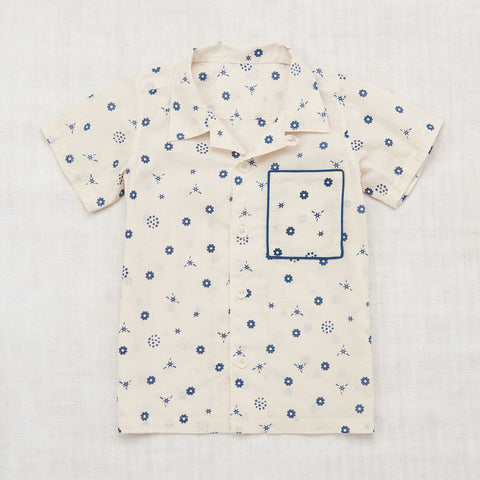 Organic Cotton Backyard Button Down Shirt - Bandana Print